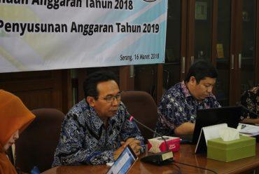 Pengarahan Teknis Pelaksanaan Anggaran Tahun 2018 dan Persiapan Penyusunan Anggaran Tahun 2019