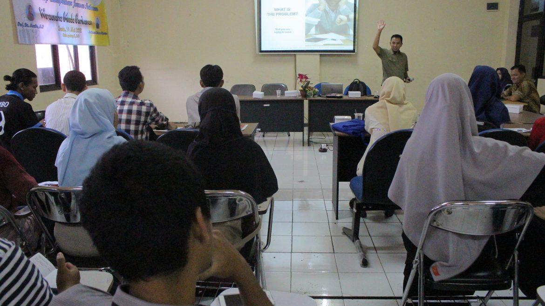 Prodi Perikanan Gelar Workshop Entrepreneur Untuk Mahasiswa-nya