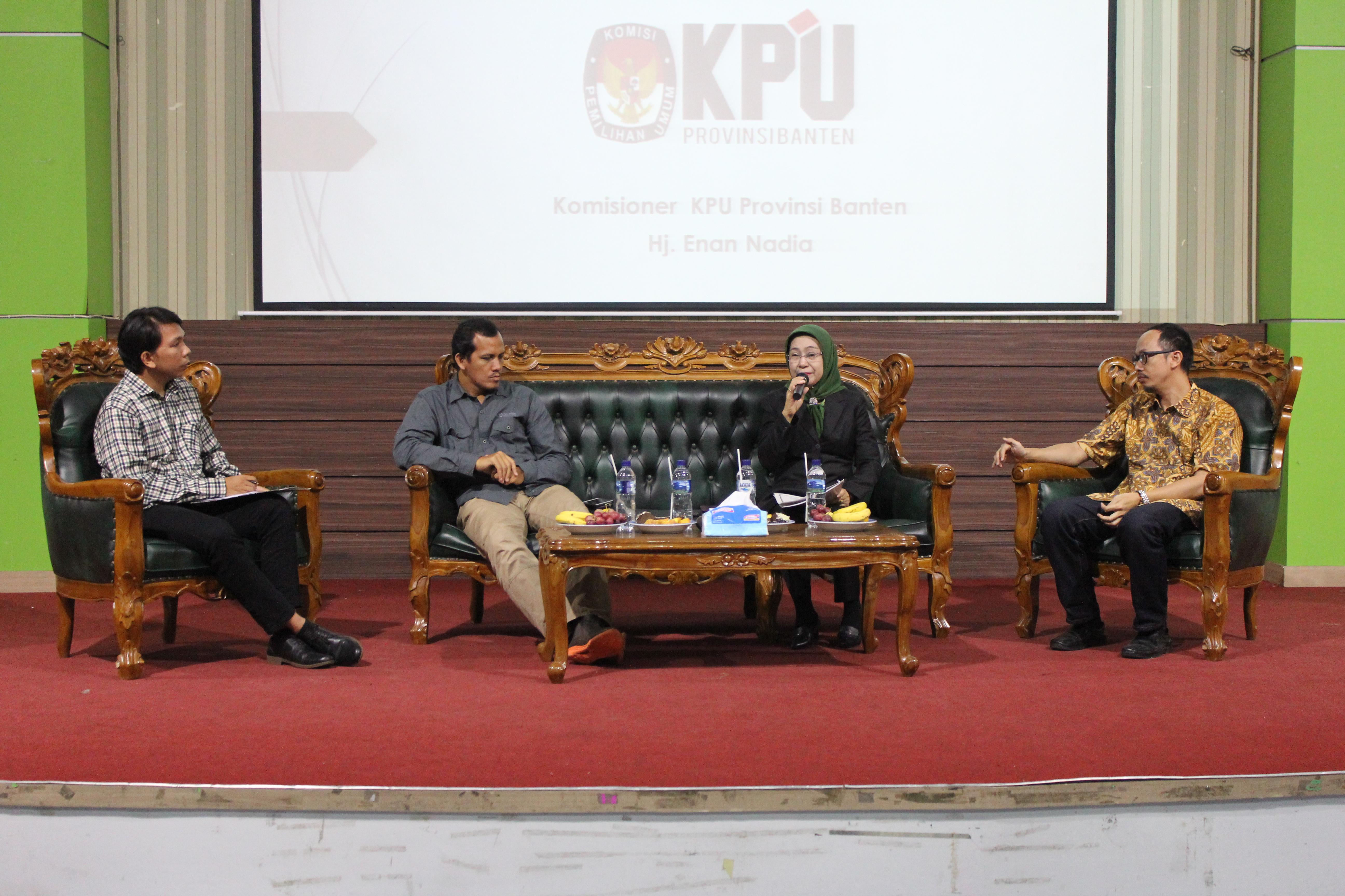 Menyongsong Tahun Politik, Jurusan Ilmu Pemerintahan Untirta Pertajam Pendidikan Politik