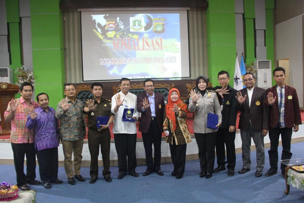 UNTIRTA dan UPP Saber Pungli Banten Gelar Sosialisasi
