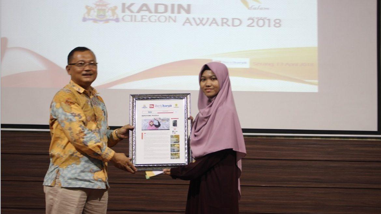 (Bahasa) FEB Untirta dan Kadin Kota Cilegon Berikan Penganugrahan Penulis Feature