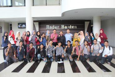 Tingkatkan Kompetensi Mahasiswa, FEB Untirta Gelar Pelatihan Jurnalistik