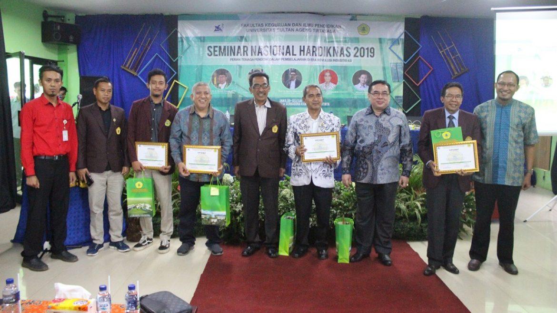 FKIP Untirta Selenggarakan Seminar Nasional Hardiknas 2019