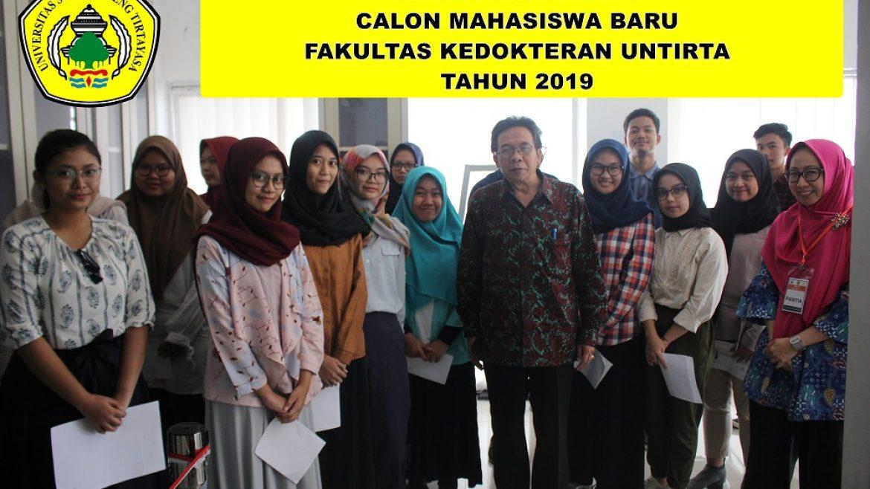 (Bahasa) REGISTRASI ULANG CALON MAHASISWA BARU FAKULTAS KEDOKTERAN UNTIRTA TAHUN 2019