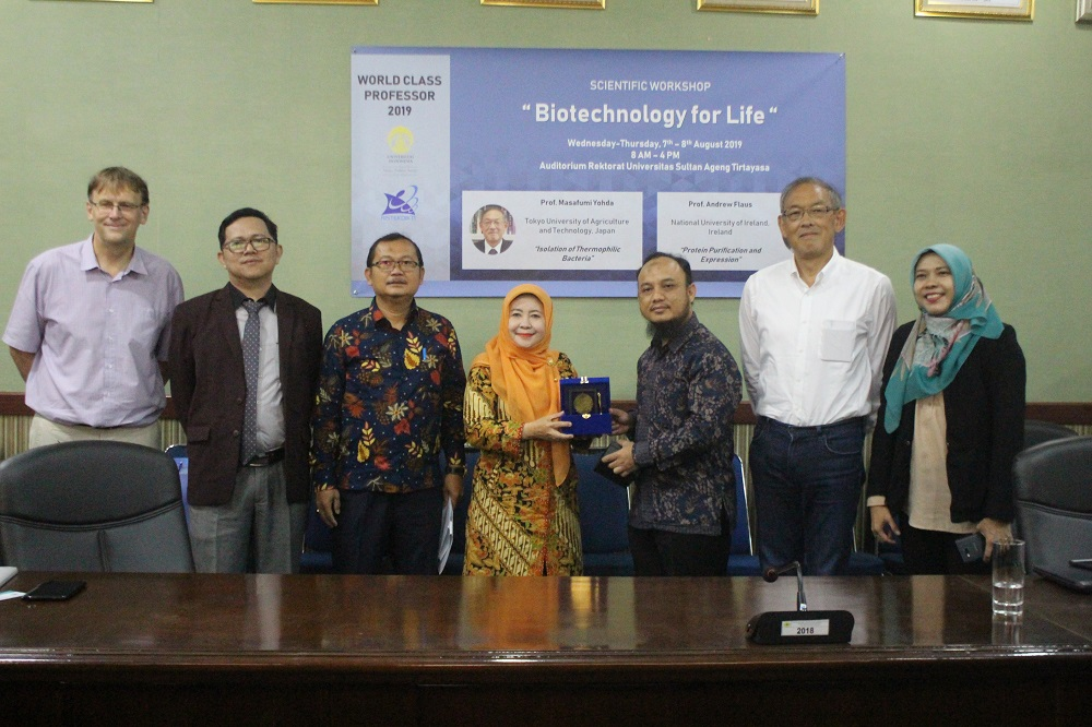 (Bahasa) Scientific Workshop Biotechnology For Life