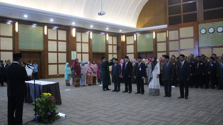 (Bahasa) Menristekdikti Lantik Rektor Terpilih Untirta