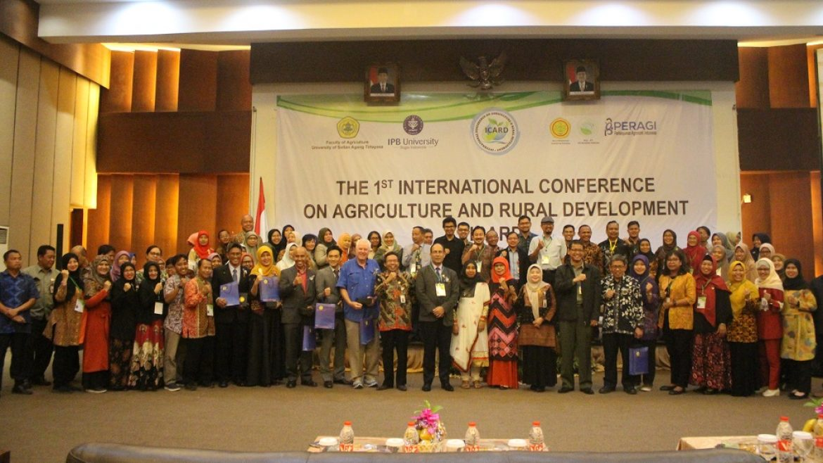 (Bahasa) Internasional Conference On Agriculture And Rural Development ( I Card )