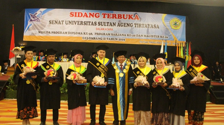 (Bahasa) Wisuda Untirta Gelombang II Tahun Akademik 2019-2020
