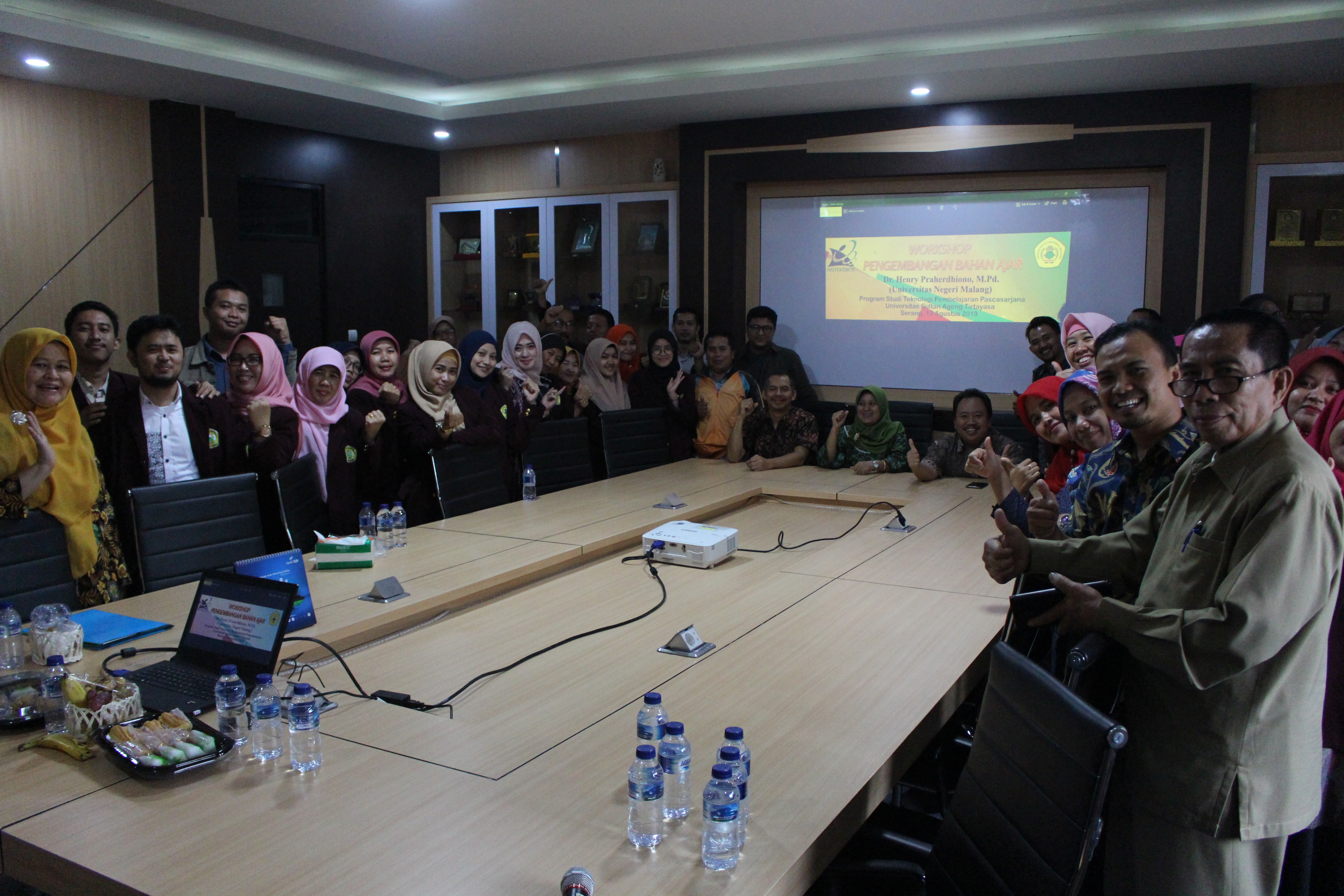 (Bahasa) Prodi Magister TPm Untirta Selenggarakan Workshop Pengembangan Bahan Ajar Dan Pembelajaran Berbasis ICT