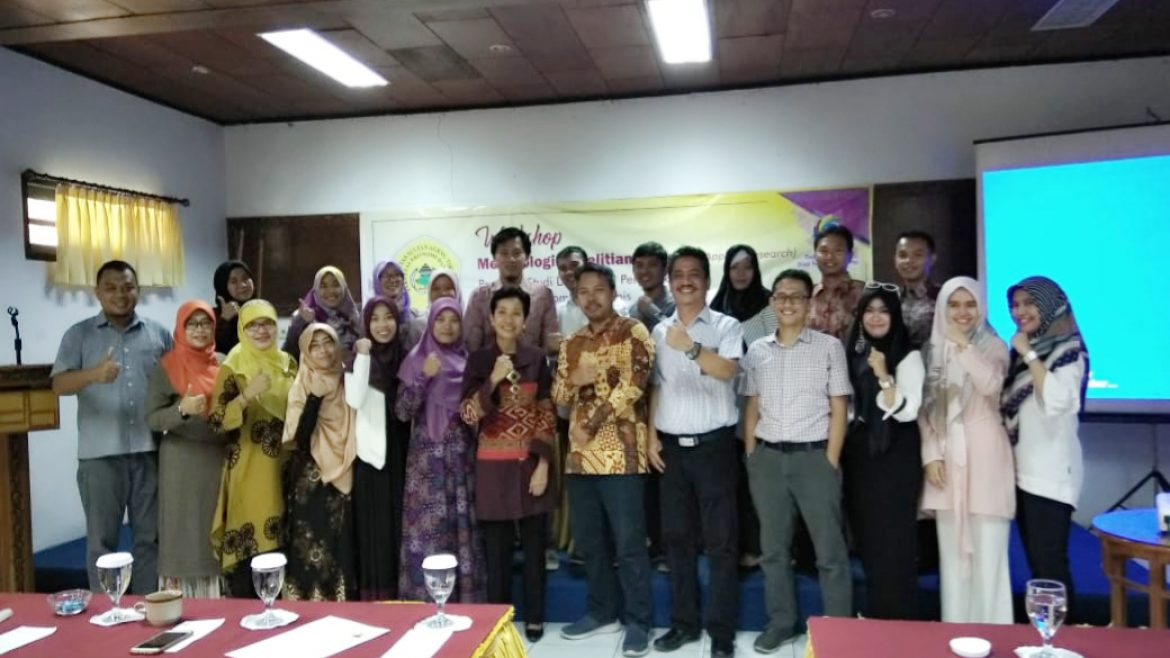 Faculty of Economic and Business of University of Sultan Ageng Tirtayasa held Workshop on Applied Research Methods