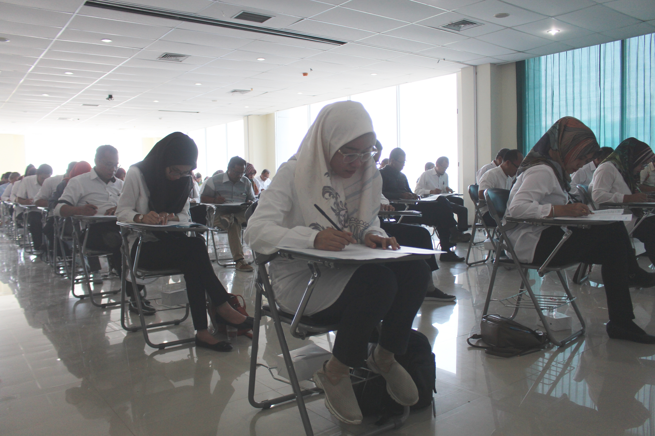 Structural Civil Servants of Untirta Took Part in Competence Test