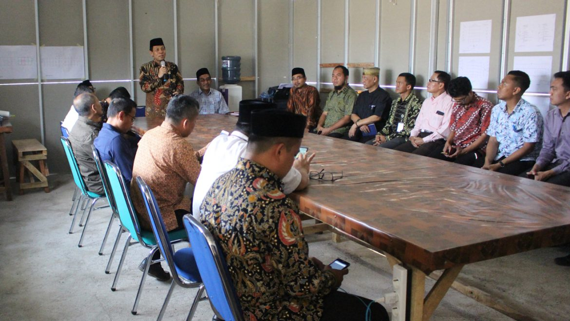 The Inauguration of Mosque Building at Faculty of Education and Teacher Training of Untirta