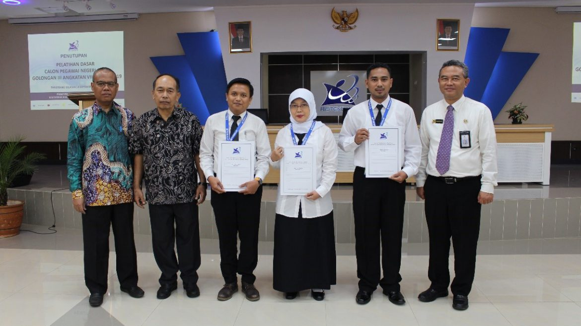 The Lecturer of Untirta Received the Best Predicate in Basic Training for Civil Servants Batch VIII 2019