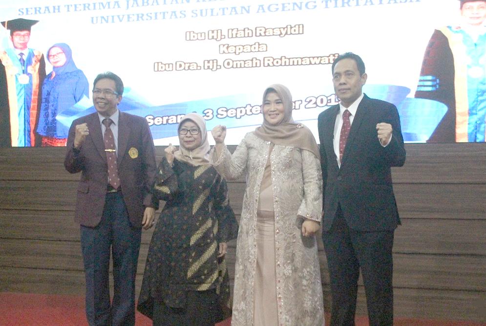 (Bahasa) Pisah Sambut Rektor Periode 2019-2023