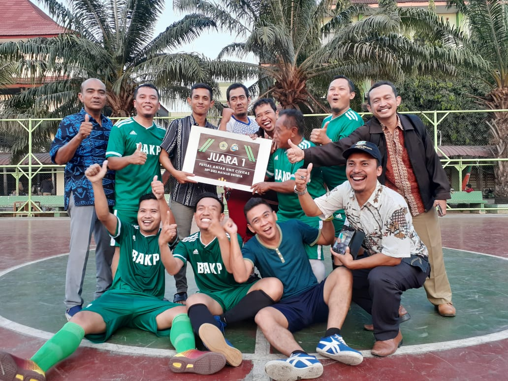 BAKP Won the First Place of Soccer Tournament of the 38th Dies Natalis of Untirta
