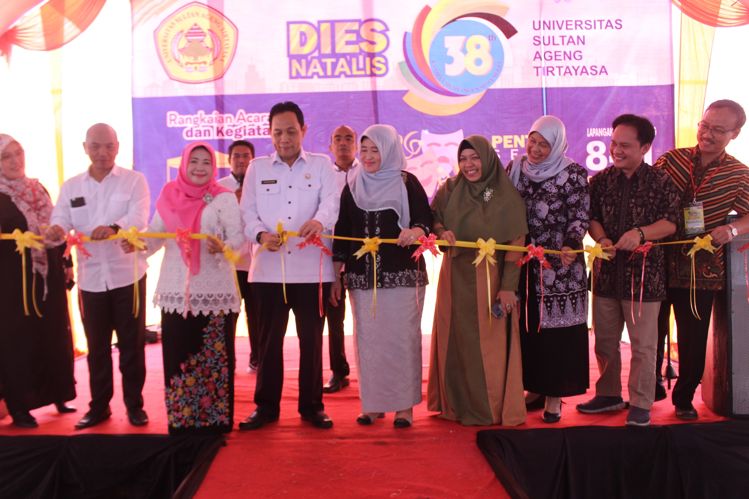 Untirta Organized Food Exhibition Based on Local Resource