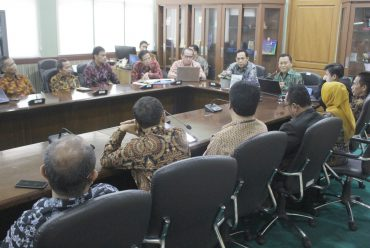 Assessor Team of Ministry of Research, Technology, and High Education Assessed the Doctoral Program of Untirta