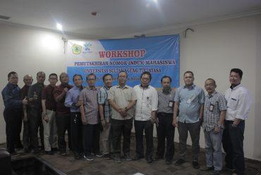 (Bahasa) Sub Bagian Registrasi dan Statistik Untirta Gelar Workshop Pemutakhiran NIM