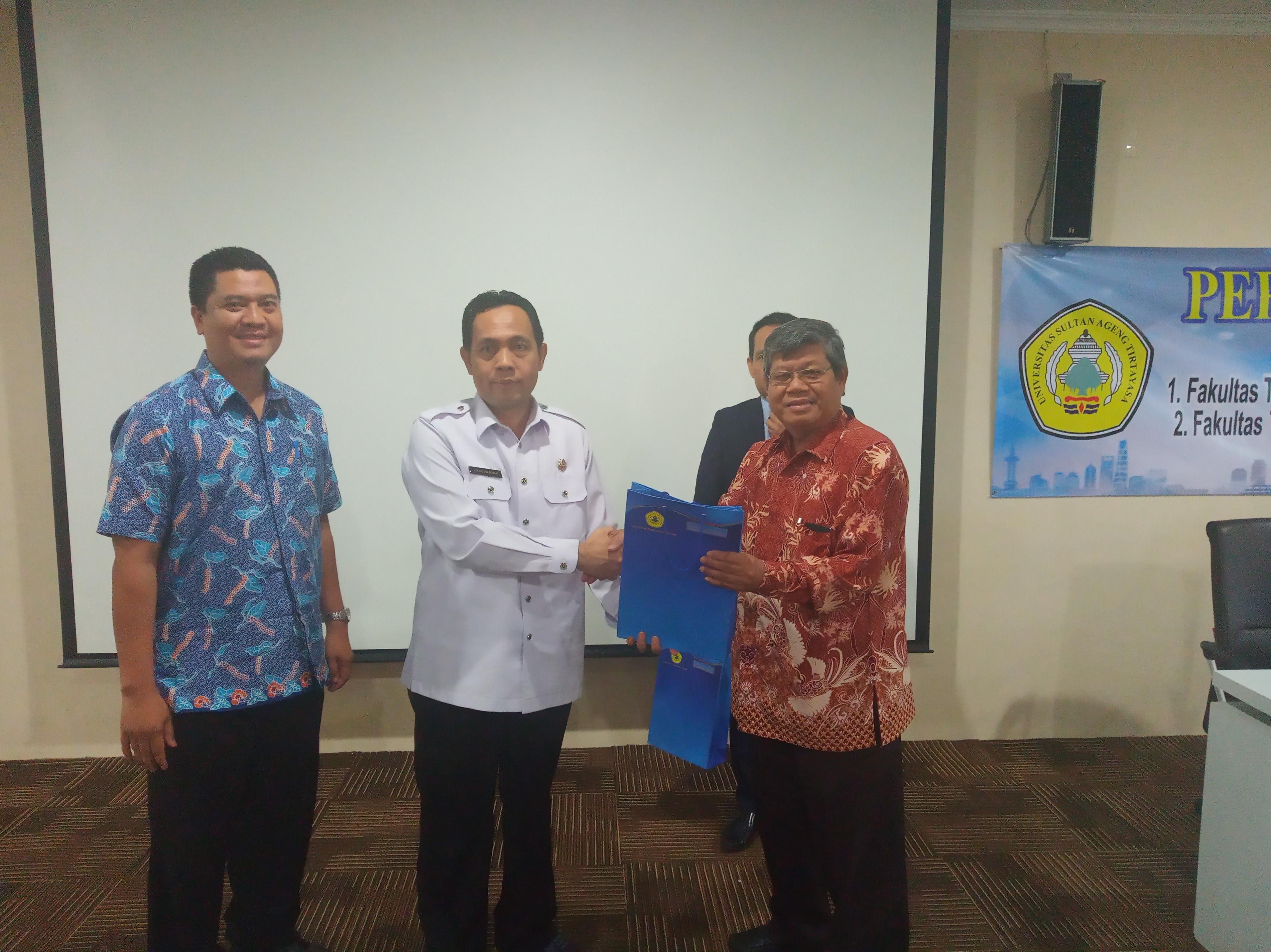 (Bahasa) Untirta Gaet PT Immarez Solusi Utama dalam Kerjasama Program Pelatihan Keselamatan dan Kesehatan Kerja (K3)