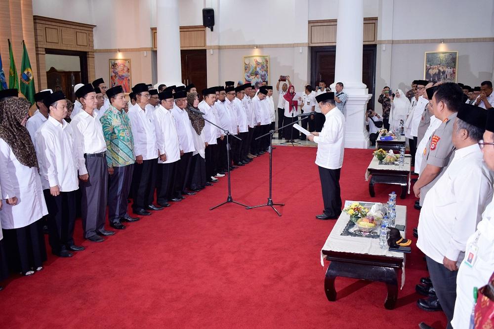 (Bahasa) REKTOR UNTIRTA HADIRI PELANTIKAN DAN PENGUKUHAN PIMPINAN WILAYAH DEWAN MASJID INDONESIA PROV. BANTEN MASA KHIDMAT 2019-2020