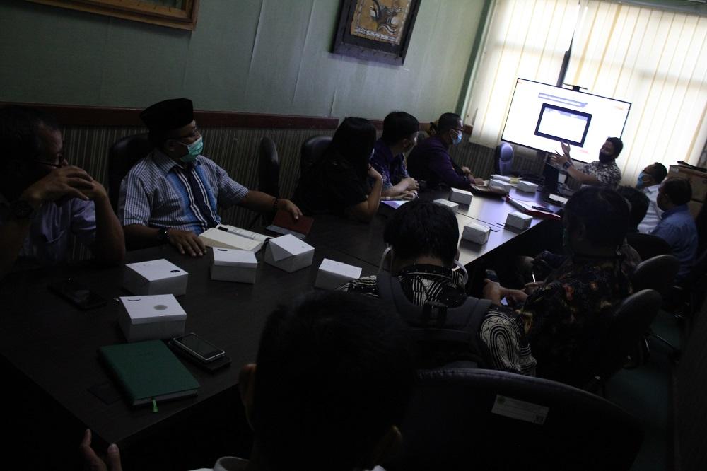 Merespon Perubahan Jadwal UTBK, Panlok SBMPTN Banten Adakan Rakor Bersama Mitra