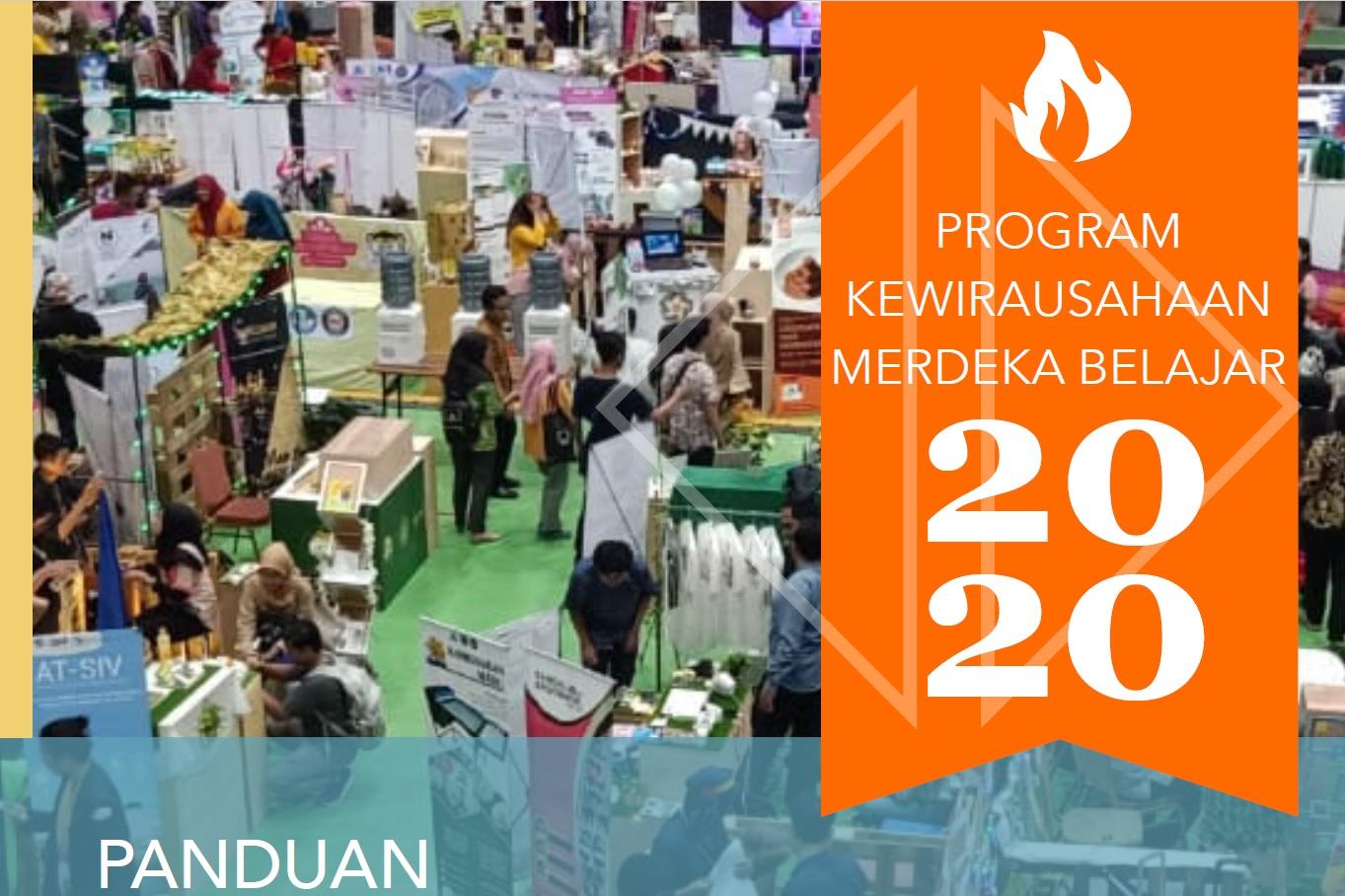 PANDUAN PROGRAM KEWIRAUSAHAAN MERDEKA BELAJAR 2020