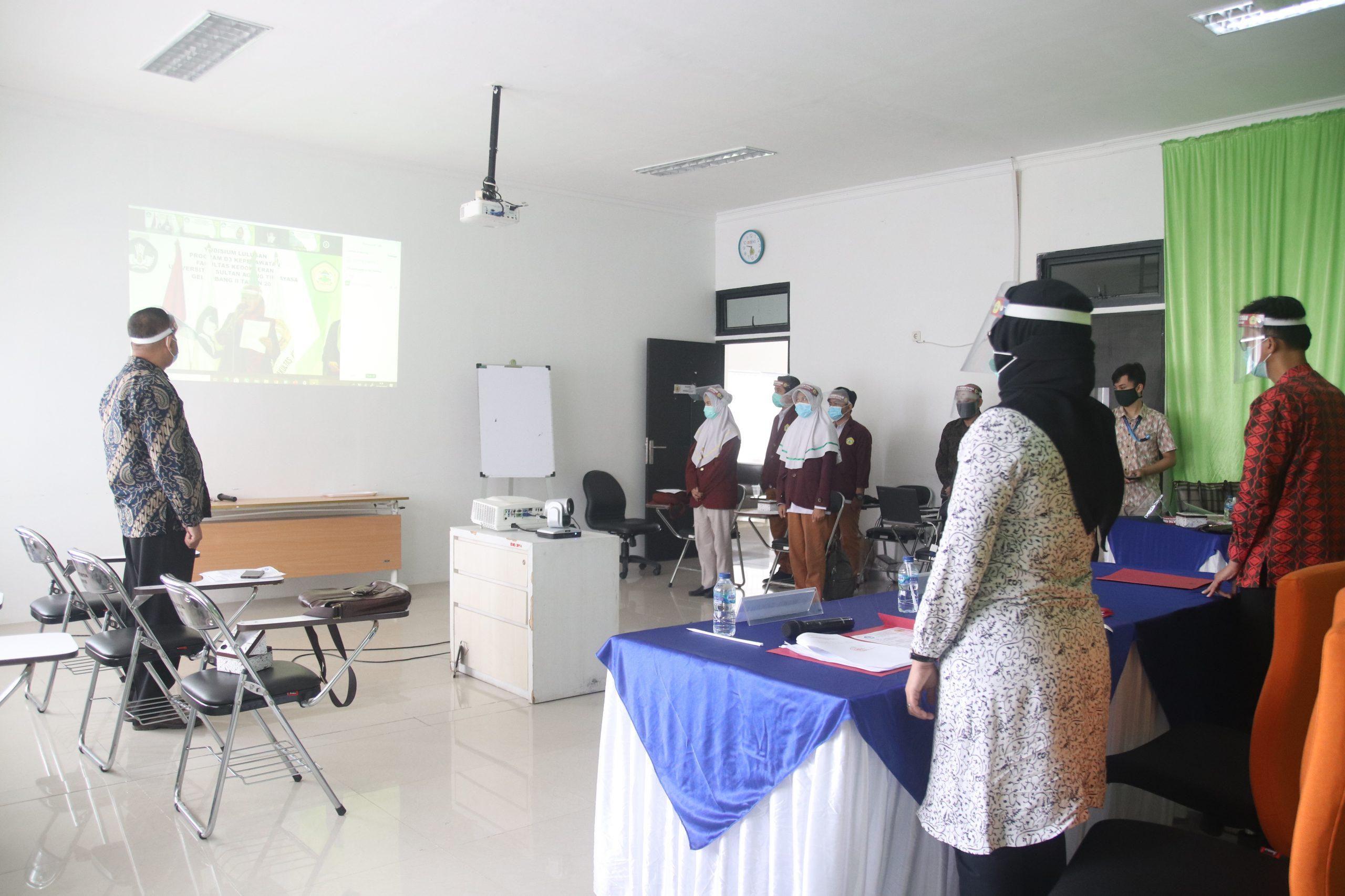 Resmi Tamatkan Pendidikan, 117 Lulusan D3 Keperawatan Fakultas Kedokteran Untirta Diharapkan Siap Jadi Leader