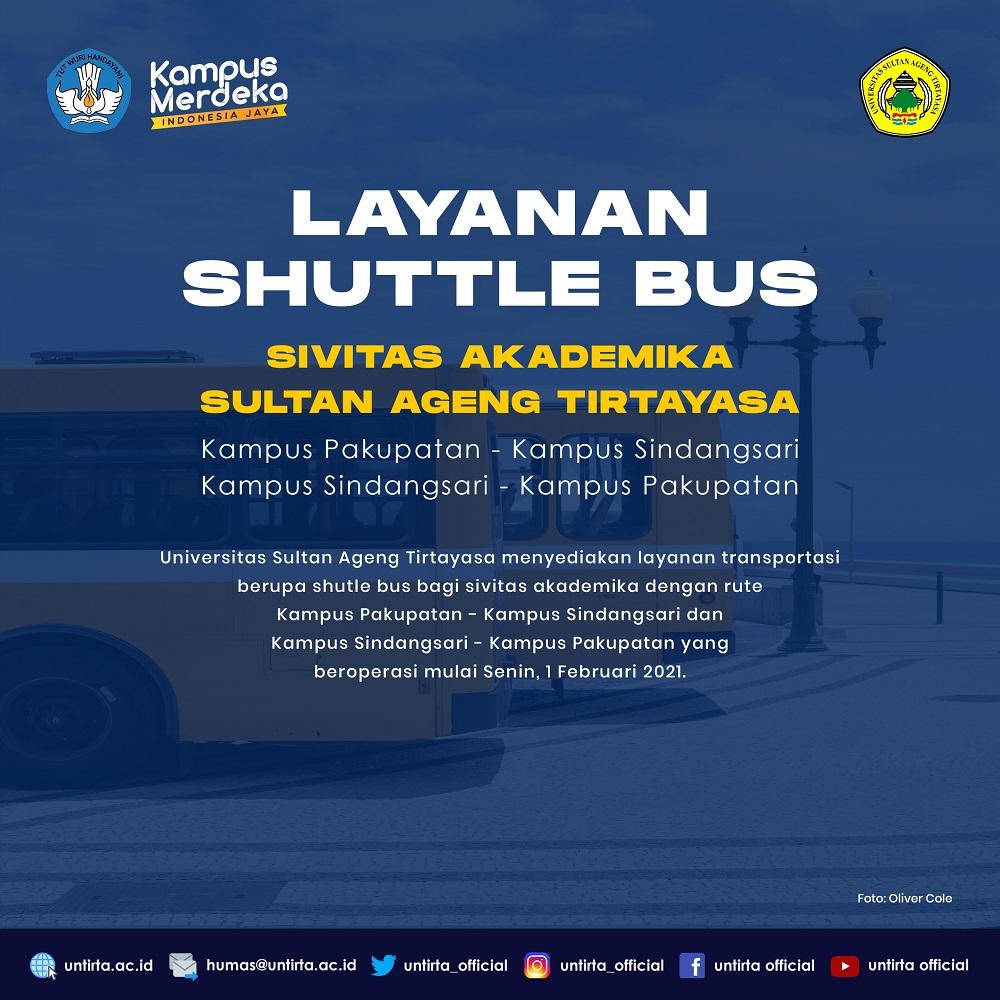 Untirta Sediakan Shuttle Bus ke Kampus Sindangsari