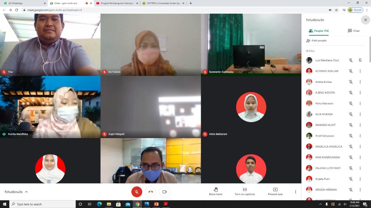 LTMPT Banten Sosialisasikan SNMPTN, UTBK SBMPTN 2021 Kepada Siswa SMAN 28 Kabupaten Tangerang