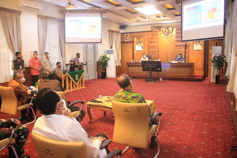 Rektor Untirta Hadiri Kunjungan Badan Legislasi DPR RI Ke Provinsi Banten