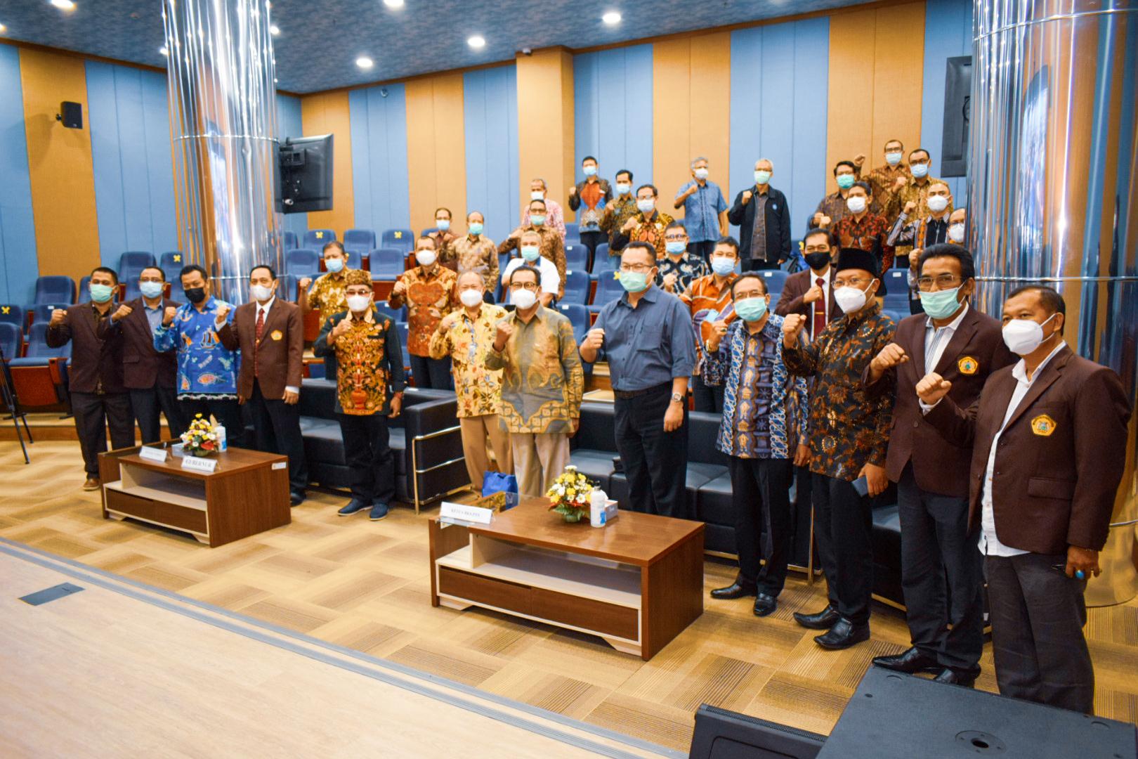 Untirta Jadi Tuan Rumah Acara Evaluasi SMMPTN Barat 2020 & Rapat Tahunan XLI Tahun 2021 BKS-PTN Barat