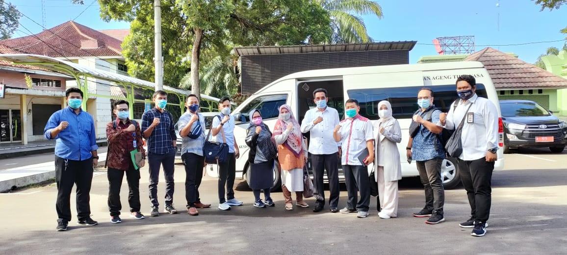 Tim Pendampingan Sosial dan Ekonomi Pasca Bencana Program Kerjasama Untirta dengan BNPB, Laksanakan Survei Lokasi di Kabupaten Lebak