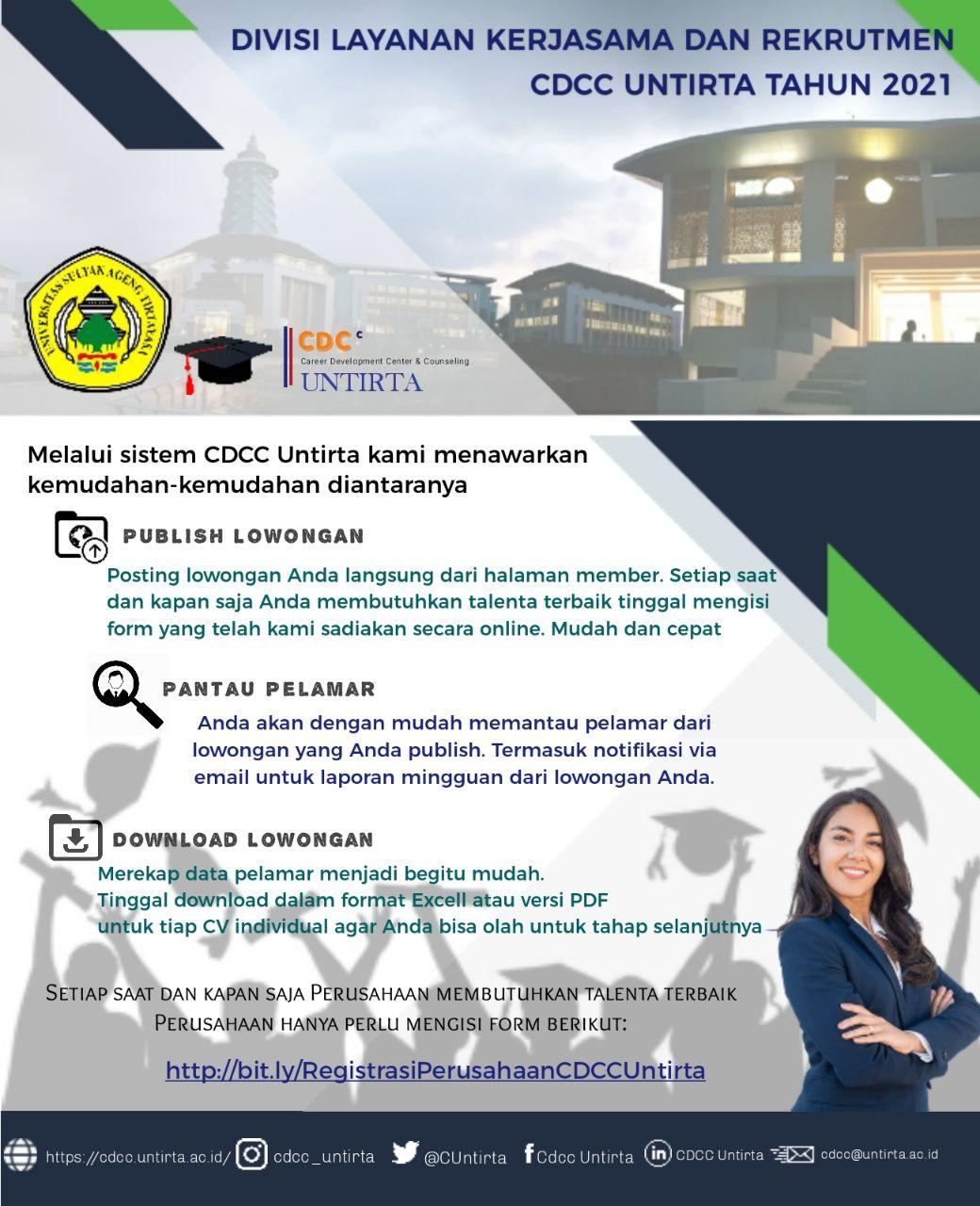 CDCC Untirta – Divisi Layanan Kerjasama dan Rekrutmen