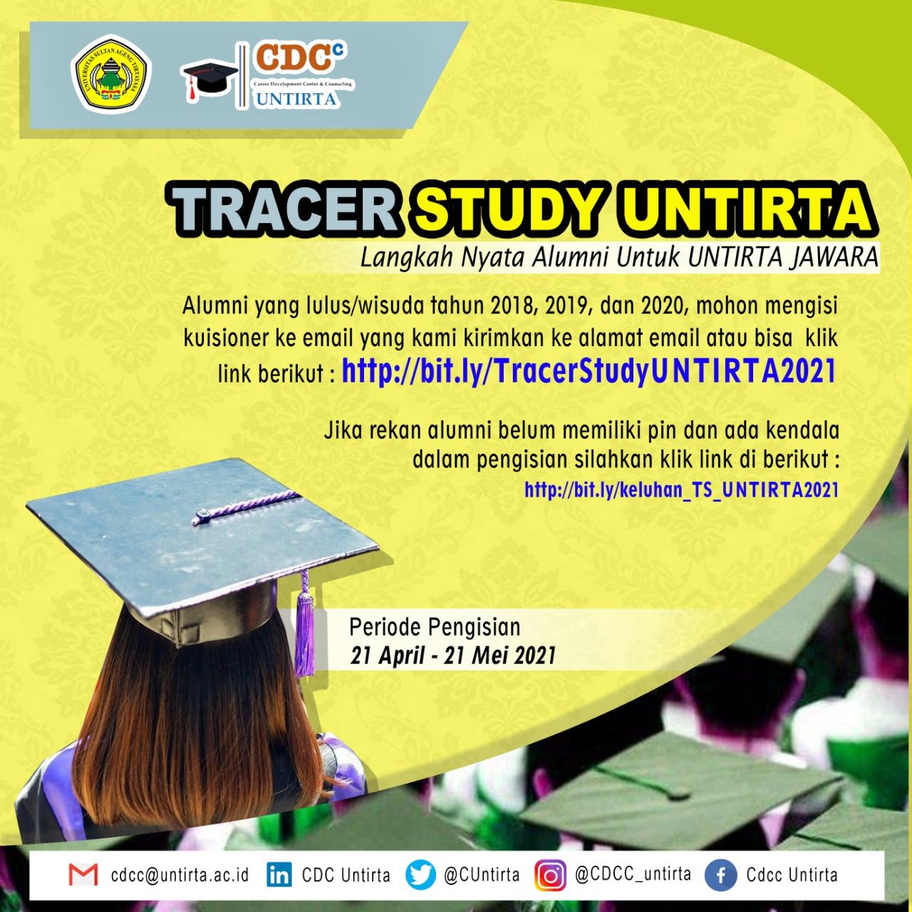 Tracer Study Untirta (Langkah Nyata Alumni untuk Untirta JAWARA)