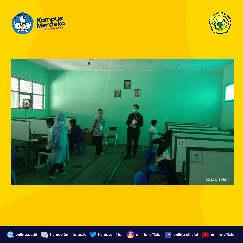 Pelaksanaan UTBK Hari Kelima – Pusat UTBK 311 Banten/Untirta