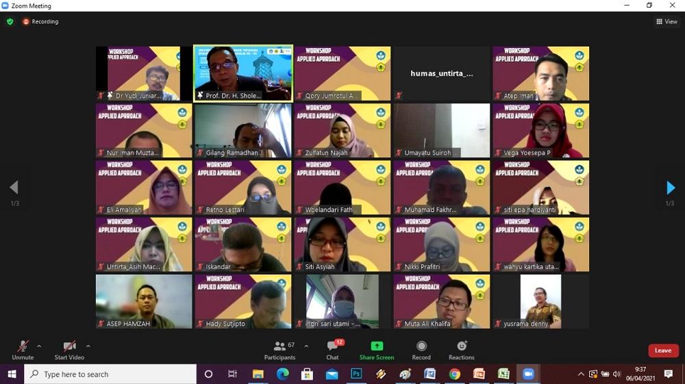 Hari Ke 2 Workshop Applied Approach Untirta – STKIP Setia Budhi