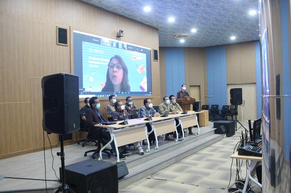 Rektor Untirta Optimis Mendapat Hibah Kompetisi Kampus Merdeka (PKKM) (Prodi Teknik Industri, Ilmu Komunikasi dan Pendidikan Biologi)