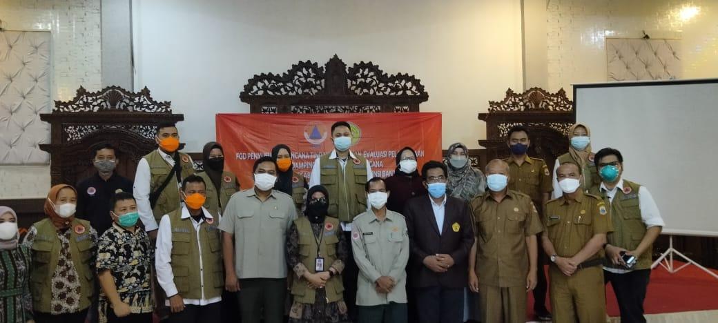 Untirta dan BNPB Gelar FGD Tindak Lanjut Pendampingan Sosial dan Ekonomi Pasca Bencana di Lebak
