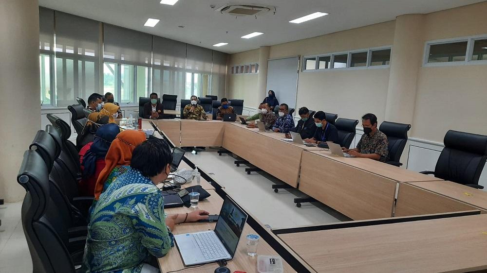 Kemdikbudristek Lakukan Monev  Hibah PKKM 3 Program Studi Untirta